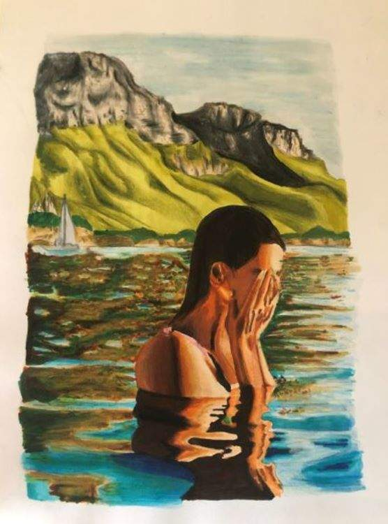Scarlett, Reflections, described by artist below