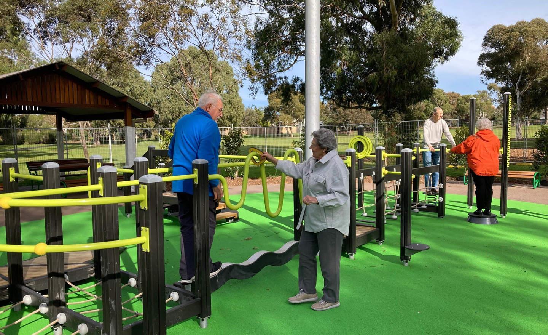 Thomas Street seniors exercise
