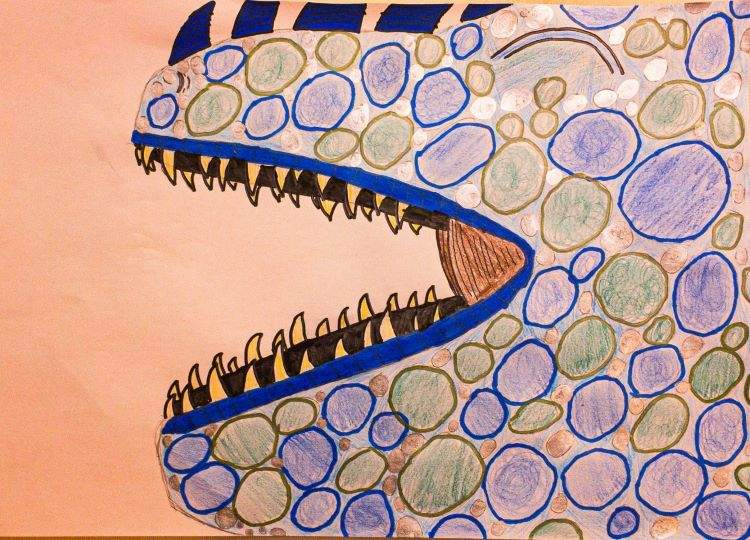 Molly, Dragon Form, described by artist below