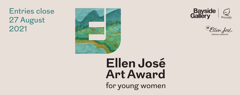 Ellen Jose Art award logo