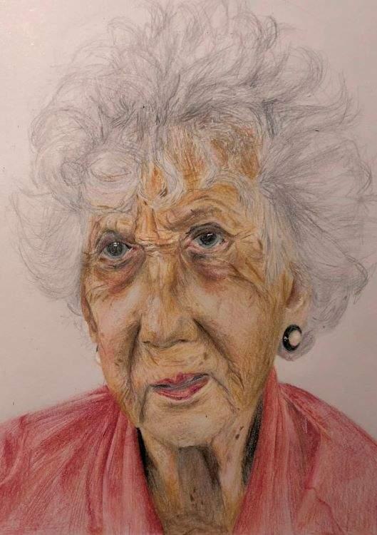 Isabella, Portrait Of A Lifetime, as described by artist below