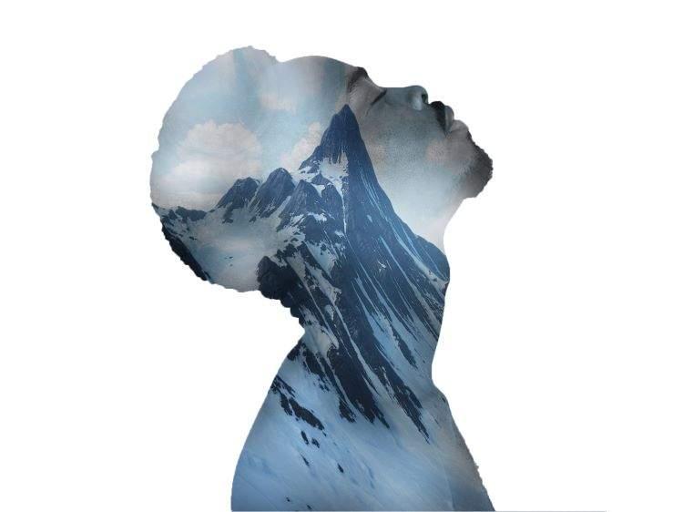 Joshua, Mountain Man, described by artist below.