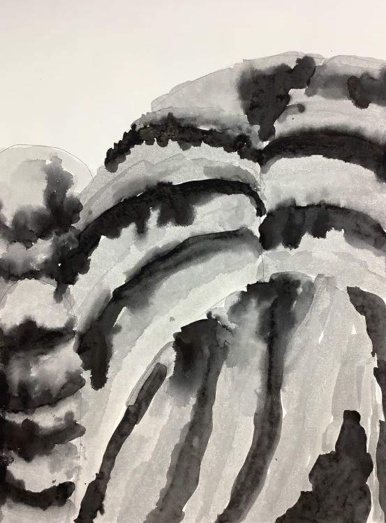 Valera, The Misty Mountains, described by artist below